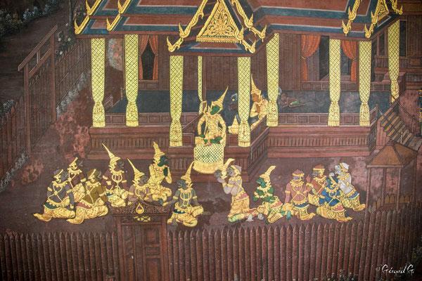 2019  02 - Bangkok , Wat Phra Kaew  -L10A5520