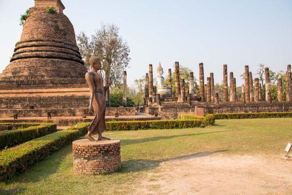 2019  02 - Sukhotai , Wat Sa Si  -L10A6085