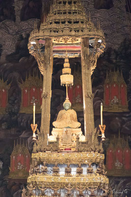 2019  02 - Bangkok, Bouddha d'emeraude , Wat Phra Kaew  -L10A5461