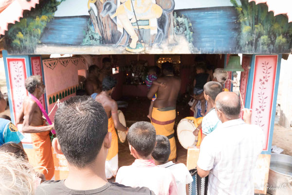 Point Pedro, cérémonie hindouiste