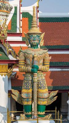 2019  02 - Bangkok , Wat Phra Kaew  -L10A5510