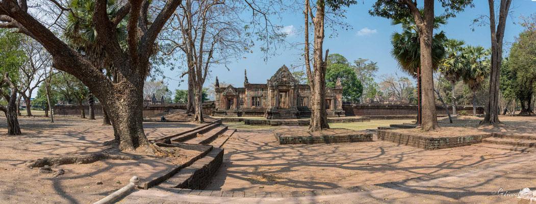 2019  02 - Prakhon Chai, Prasat Muang Tham   -L10A7454-Panorama