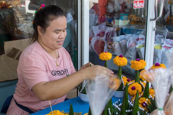 2019  02 - Bangkok, Marche aux fleurs   -L10A5095