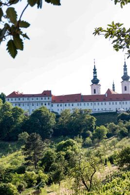 vue sur le couvent de Strahov