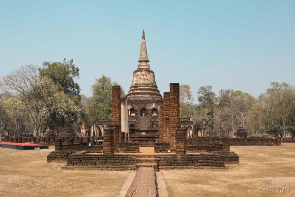 2019  02 - Si Satchanalai , Wat Chang Lom  -L10A6243