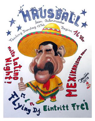 Hausball Betenmacher 2018 Thema Mexicanische Nacht