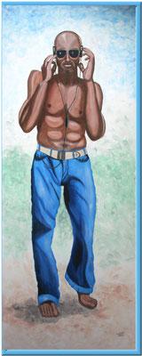 Jonny Boy/200x80 cm Acryl auf Hartfaserplatte Preis 499 €
