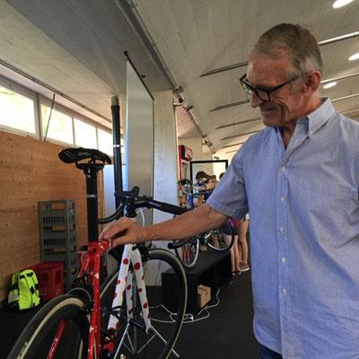 buechermacher.ch_Röbi Stolz_35 Jahre Fahrradbau Stolz_Mööslihalle_Bad Allenmoos