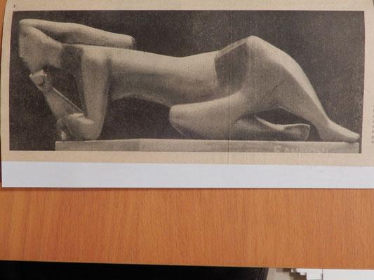 """Franco Annoni: """"Die Liegende"""" 1962"""