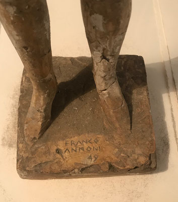 """Akt"" von 1949 signiert Franco Annoni   4"