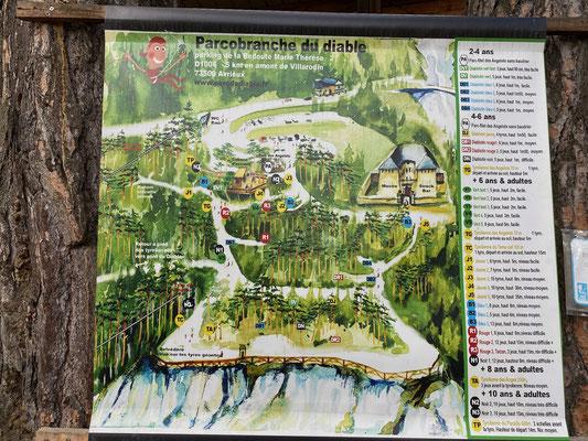 Kletterpark am Fort Redoute Marie-Thérèse