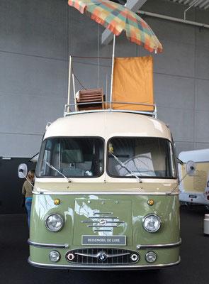 Mikafa Reisemobil de Luxe von 1959 mit Dachgarten