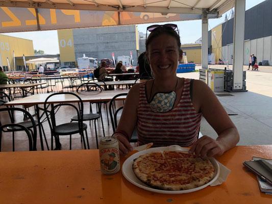 Unterwegs auf dem Salone del Camper in Parma