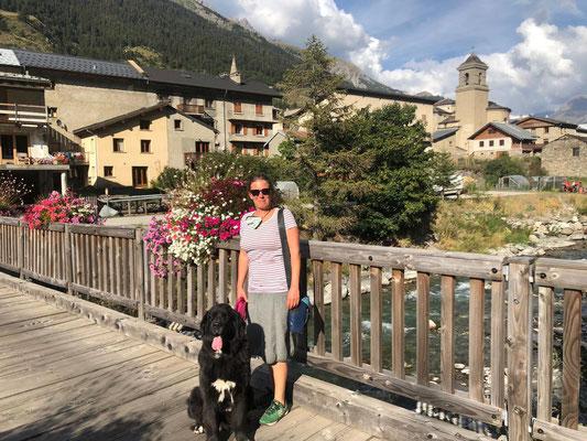 Unterwegs in Lanslebourg-Mont-Cenis