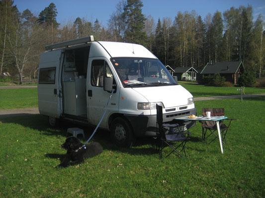 2010 - Camping in Helsinki