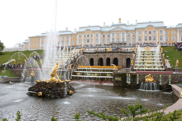 Besuch in Peterhof (2015)