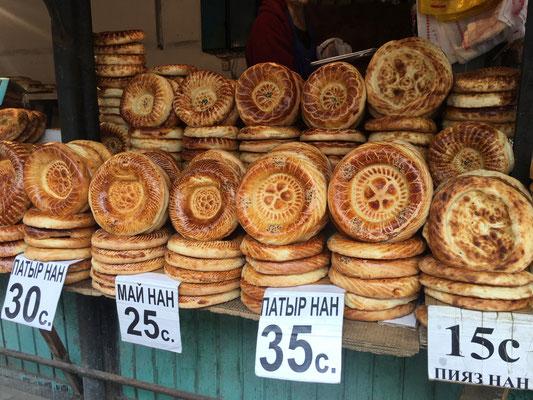Marktbesuch in Bischkek