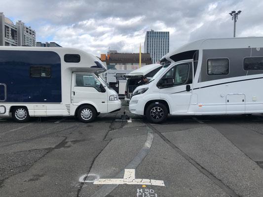 Odaiba Campingcar Fair 2019 - Carby von Towa Motors