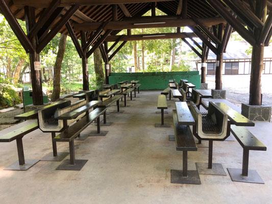 Hiruganokogen Camping Ground - Grillplatz