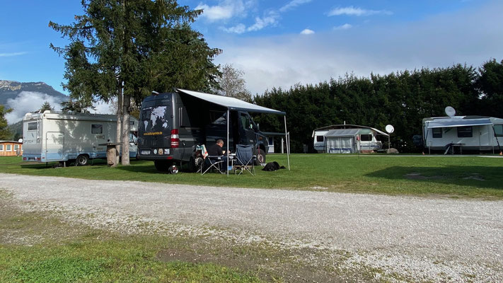 Übernachtung auf Camping Grimmingsicht