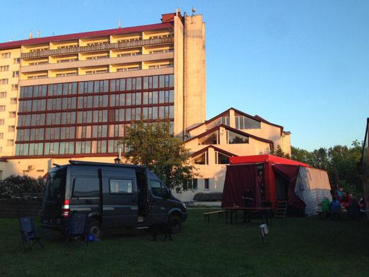 Hotelwiese in Kaliningrad (2015)