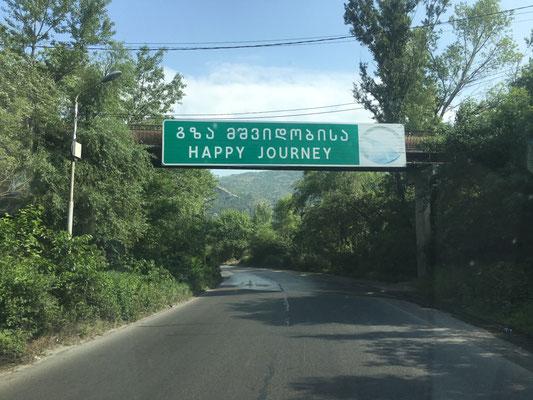 Sympathisches Straßenschild