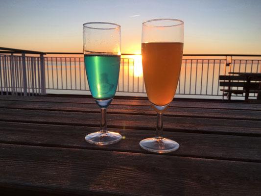 Gute Nacht Getränk - keine Ahnung was wir da 2016 getrunken haben