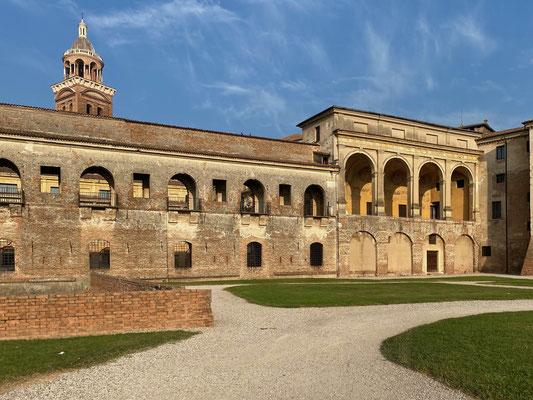 Spaziergang durch's morgendliche Mantua