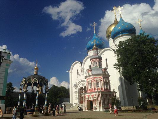 Das Dreifaltigkeitskloster in Sergijew Possad