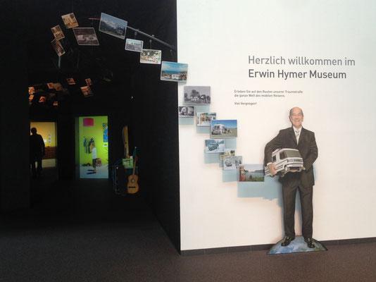 Beginn der Ausstellung
