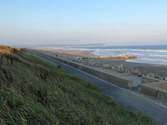 Kujukuri Auto Camping - Strand