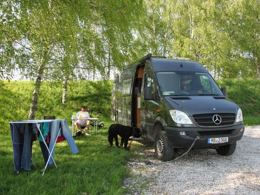 Campingplatz in Suzdal - Zeit zum Wäschewaschen (2013)