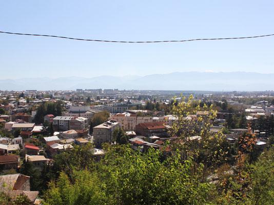 Blick über Kutaisi