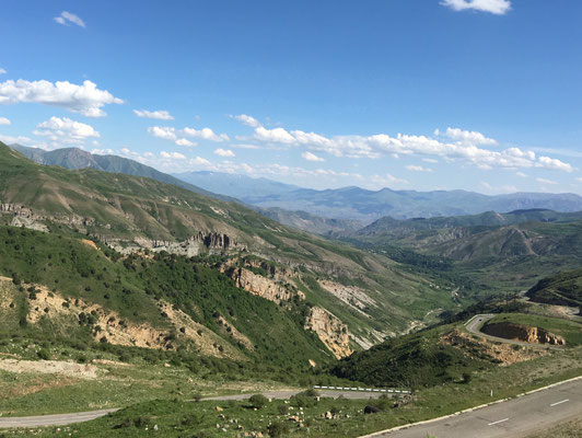 Blick vom Vardenyats Pass