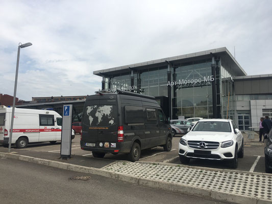 Mercedes Art Motors in Ufa