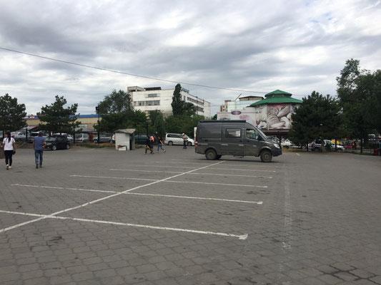 Parkplatz am Markt