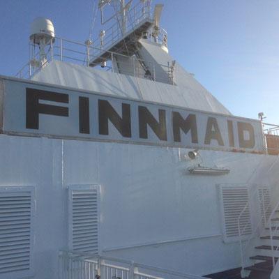 Finnmaid - unsere Fähre