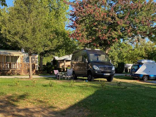 Camping Du Pasquier in Dole