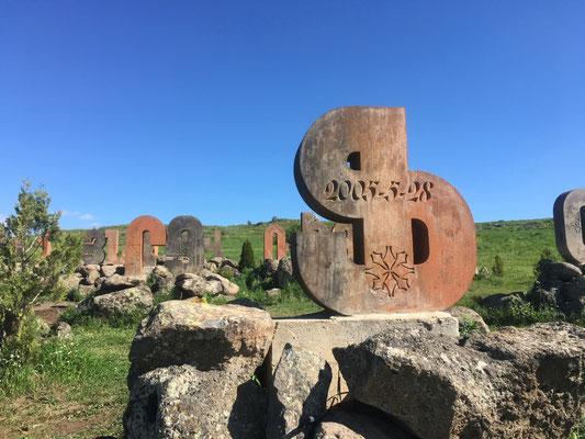 Denkmal für die armenische Schrift