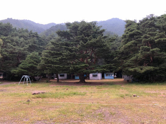 Motosu Lake Side Camping Ground