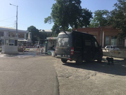 Übernachtungsplatz in Samarkand