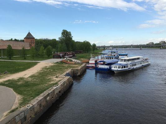 Besuch von Weliki Novgorod (2016)