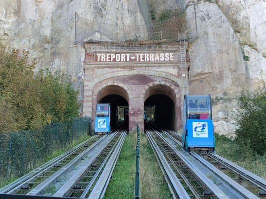 Funiculaire von Le Tréport