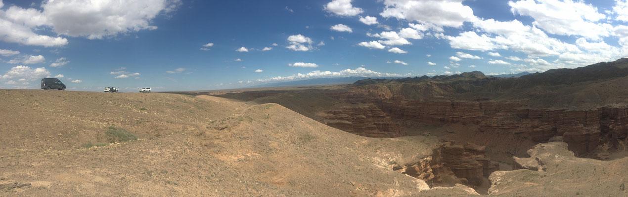 Blick über den Sharyn Canyon