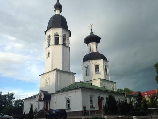 Die Kirche um die Ecke
