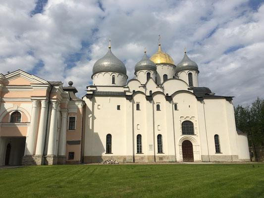 Besuch des Kremls von Weliki Novgorod (2016)