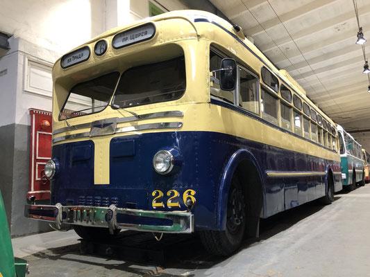 Das Straßenbahnmuseum in Sankt Petersburg (2019)