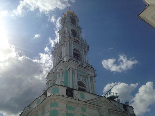 Der Glockenturm mit einem atemberaubenden Klang
