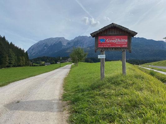 An der Goaßhittn in Bad Mitterndorf