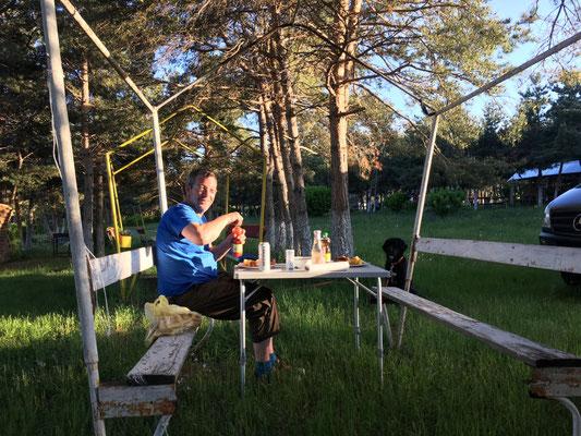 Unsere Picknickhütte